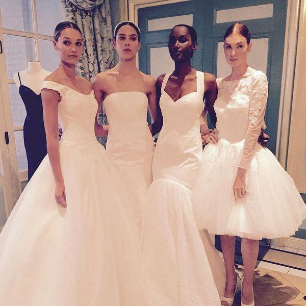 This Zac Posen + David's Bridal Collection Is a Budget Bride's Dream Come True