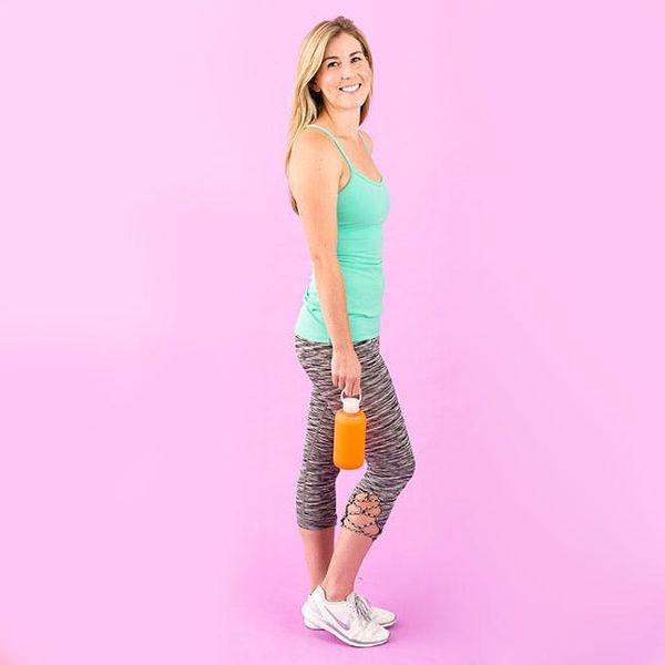 How to Update Old Workout Wear With This One DIY Supply