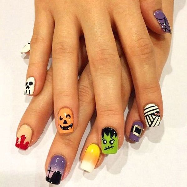 10 Must-Follow Nail Artists for Spooky Halloween Looks