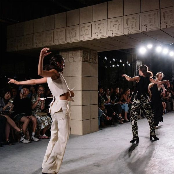 All the Models Fell Down on Purpose at This Fashion Show