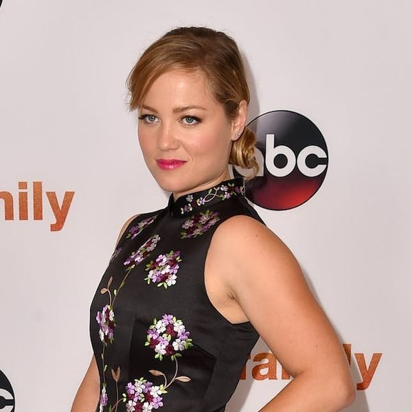 You Have to See This Parenthood Star's Mesh Wedding Dress