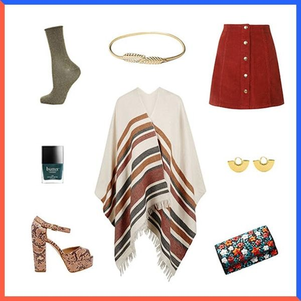 Style Resolutions: How to Style a Cape This Fall