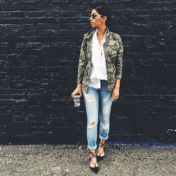 How to Keep Denim Looking Chic This Fall