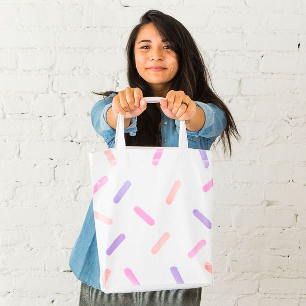 A New Way to Make Hand-Stamped Tote Bags in Under 30 Minutes