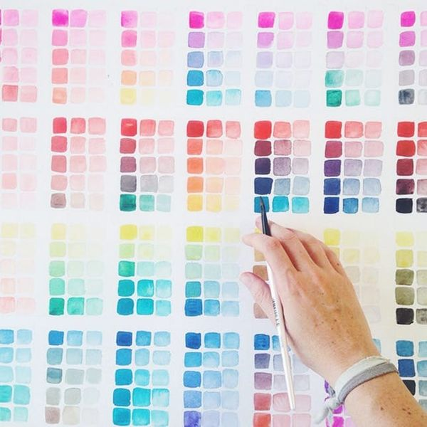 How This Watercolor Artist Became Insta-Famous