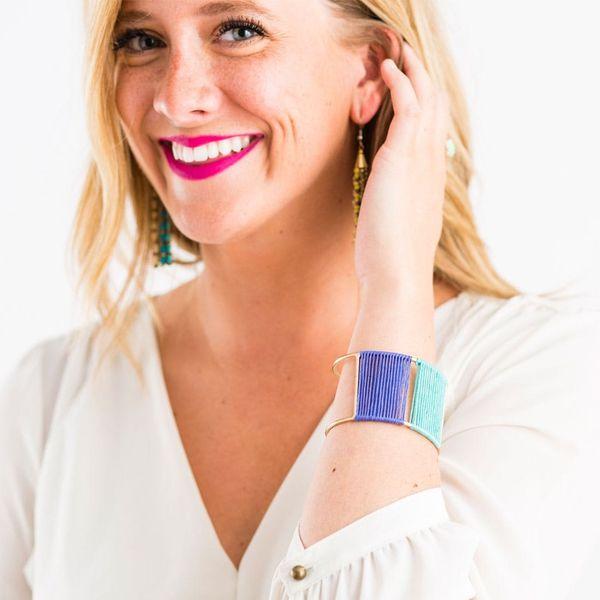 How to Make a Mini Tapestry in a Cuff Bracelet