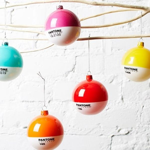 Today Only: 40% off Pantone Ornaments in the Shop