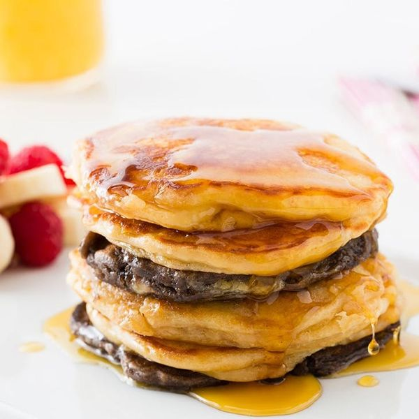 Start Your Morning With Cookie Butter Holiday Pancakes
