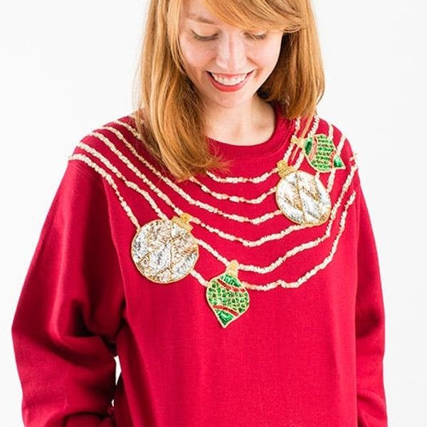 Brit + Bow & Drape = Our Tacky Holiday Sweater Brit Kit!