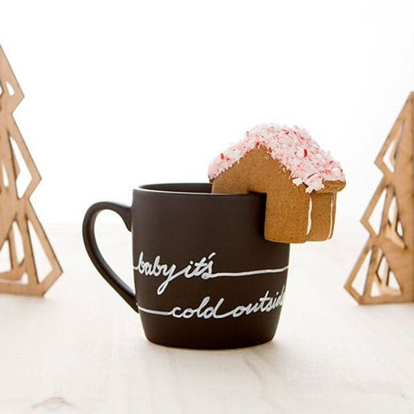 New in the Shop: Holiday Mug and Mini Gingerbread House Kit!