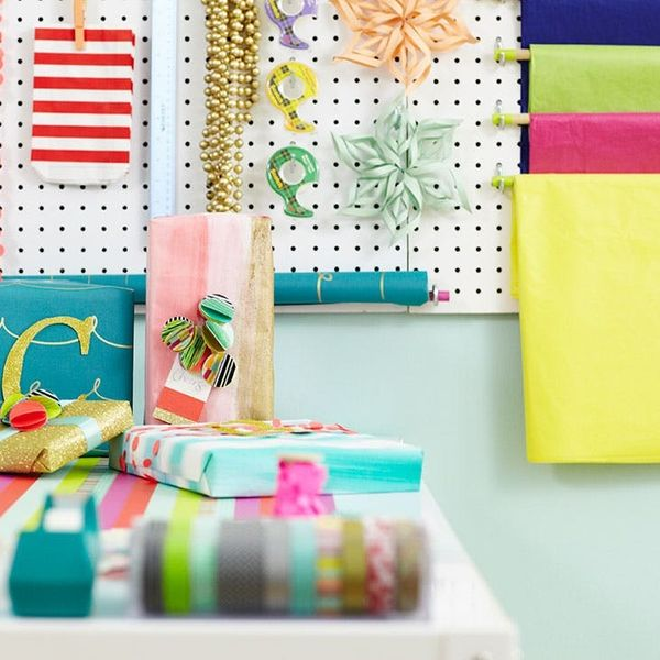 Must-Haves for the Ultimate Holiday Gift Wrap Station