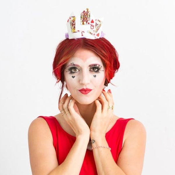 How to DIY a Queen of Hearts Costume Using Makeup You Already Own