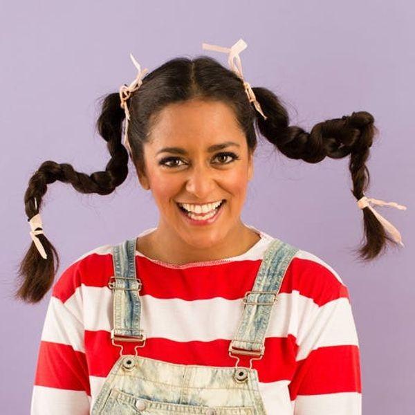 20 10-Minute Halloween Hair Hacks