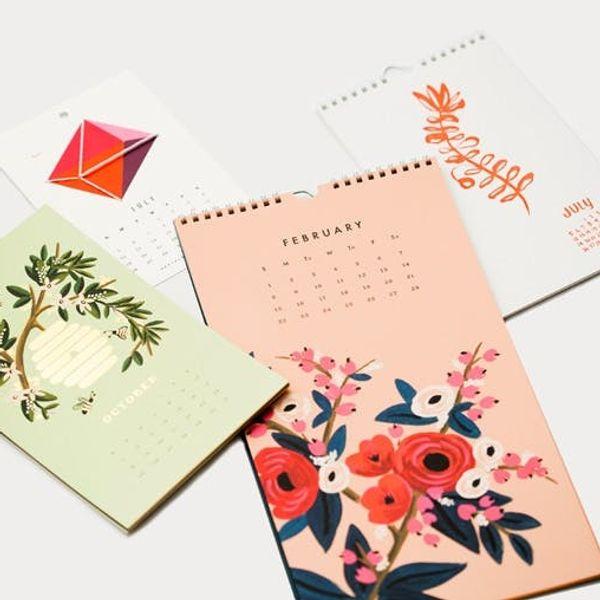 Plan Ahead: 12 Beautiful 2015 Calendars