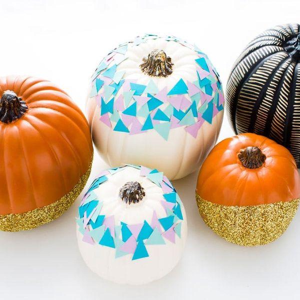 3 Ways to Make Chic No-Carve Pumpkins