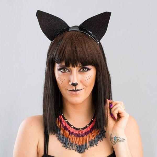 Halloween Beauty 101: The Purrfect Black Cat Makeup