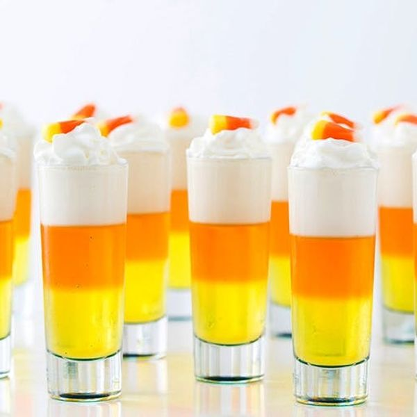 Party On This Halloween With These Candy Corn Jello Shots Recipe