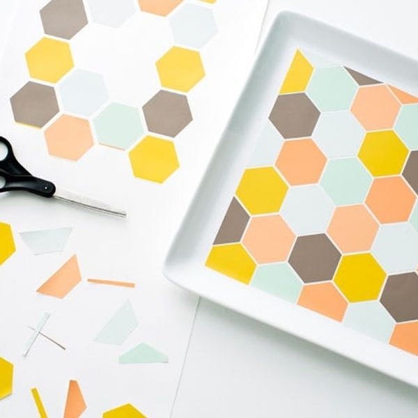 We're Obsessed: Lovely Wall Decals + 3 Ways to DIY With Them!