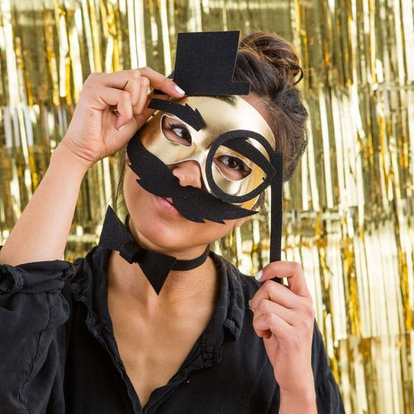 Make 3 Chic Halloween Masks in a Matter of Minutes