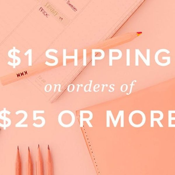 $1 Shipping, Because It's Wednesday