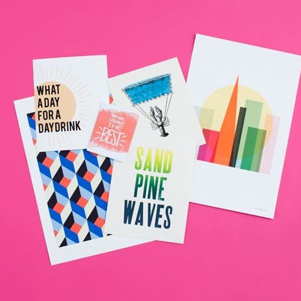 Home is Where the Art Is: New Prints in the B+C Shop!