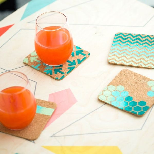 Want to Make Color Blocked Necklaces and Coasters at Re:Make?!