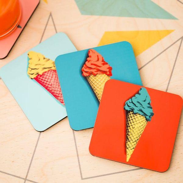 We All Scream for This DIY Ice Cream Cone Decor