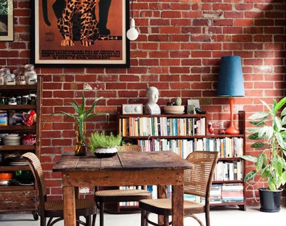 Breathtaking Rooms With Exposed Brick
