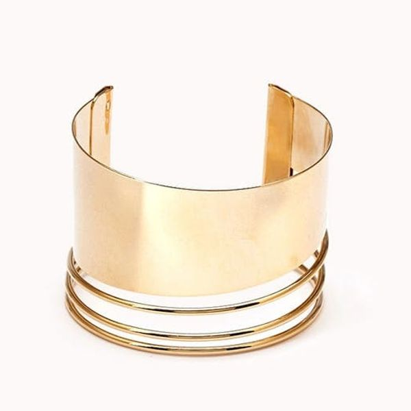 15 Cool Gold Cuffs to Add to Your Arm Party