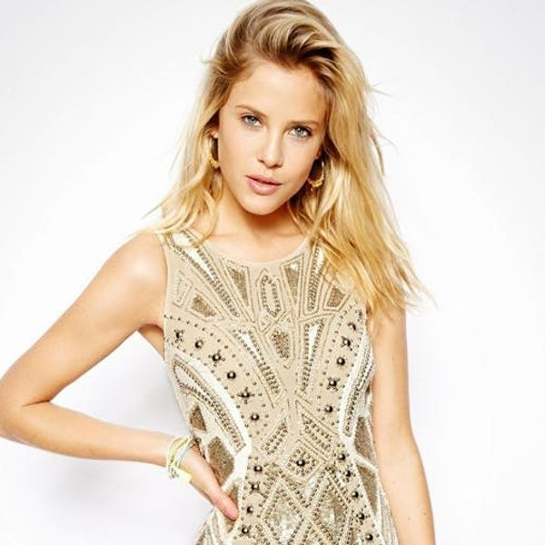 10 Little Gold Dresses to Make You Sparkle