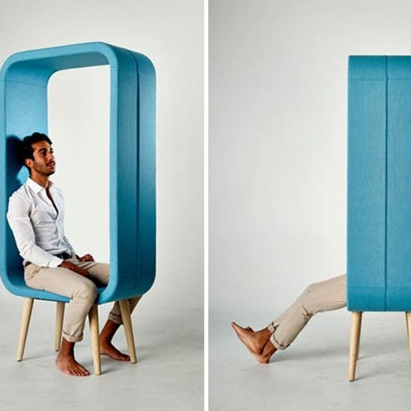 Made Us Look: A Chair That Looks Like a 3D Picture Frame