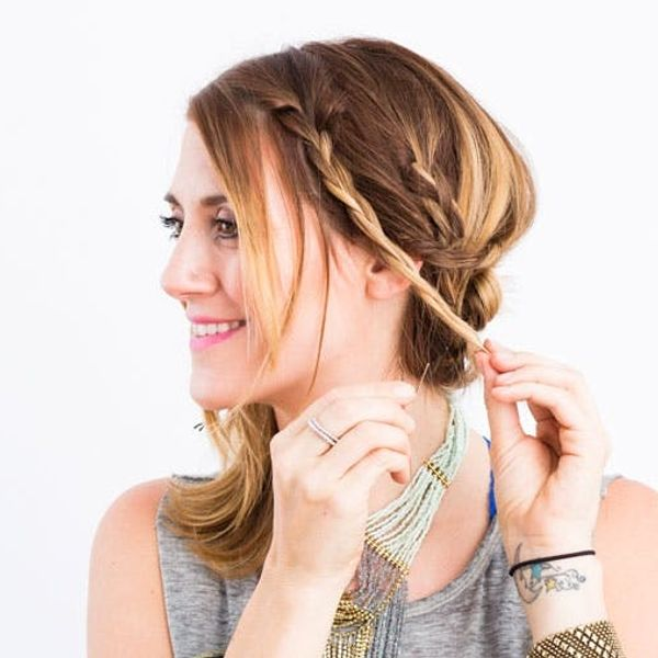3 Summer Updos You Can Do in Under 5 Minutes