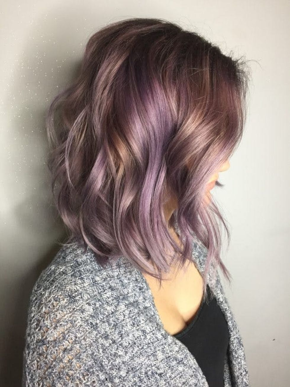 These 25 Purple Hairstyles Will Make You Want To Dye Your Hair Brit Co