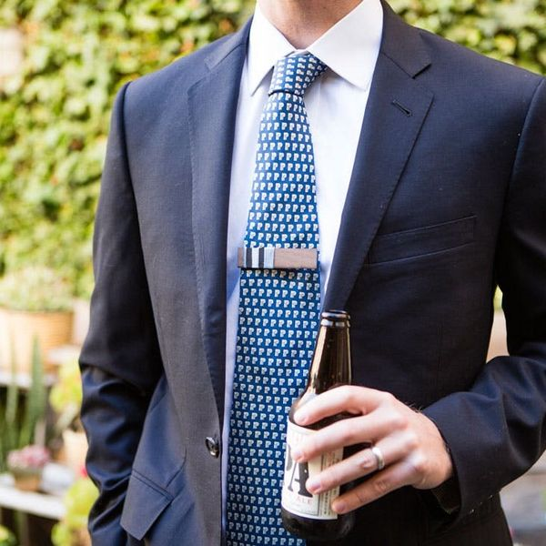Last-Minute DIY for Dad: 2-Minute Tie Clips