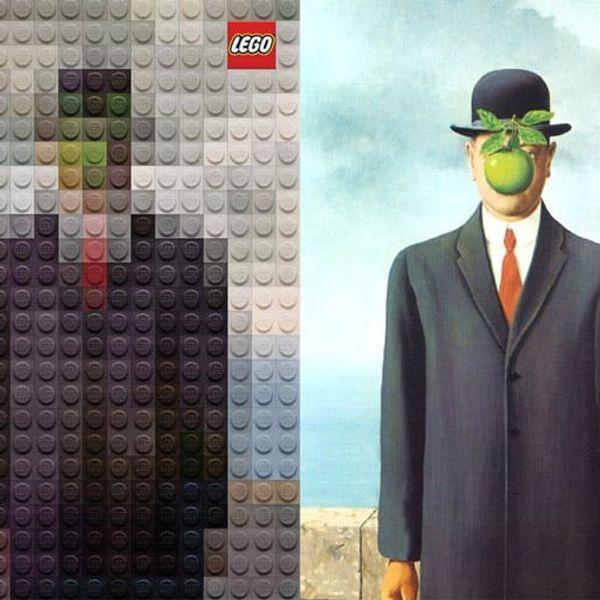 Genius Ad Campaign Recreates Famous Paintings Using LEGOs