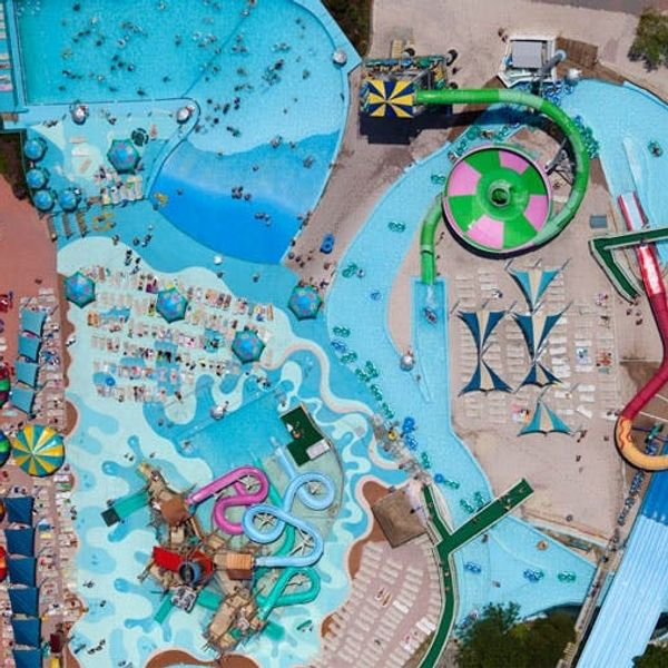 This Is What American Leisure Looks Like From Above (Photo Series)