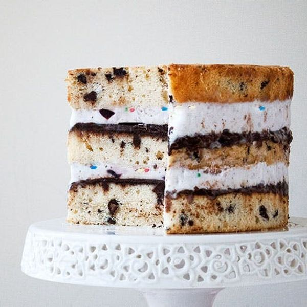 Cake or Ice Cream? Try Both With This Ice Cream Layer Cake Recipe!