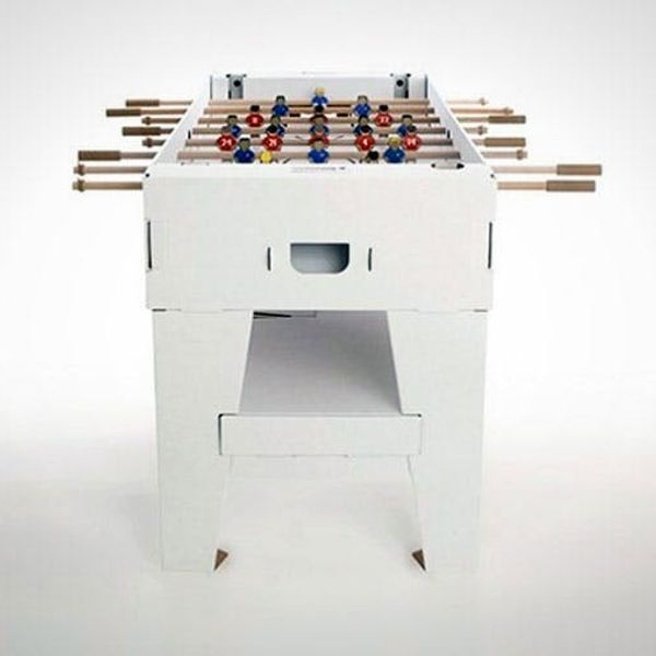 This Foosball Table Can Fold Up and Set Up in Minutes!