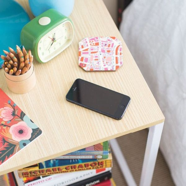 How to Make a Nightstand That Charges Your Phone