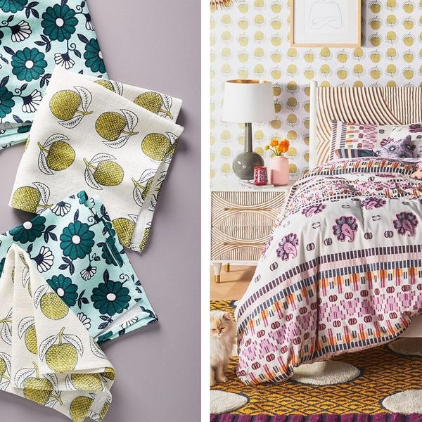 Anthro Just Launched the Dreamiest Vintage Home Collab —Here's What We're Loving
