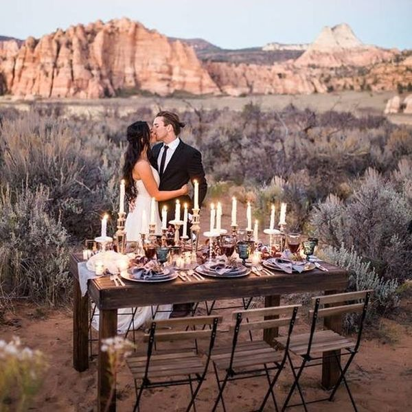 National Park Wedding Inspo that Will Have You Packing Your Bags