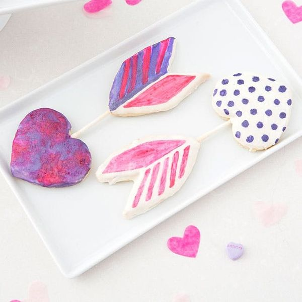 Make Cupid's Arrow Cookies With Your Kids (or Roomies) This Weekend