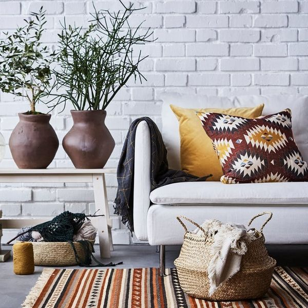 Sneak Peek! IKEA's 2019 Catalog Is a Rattan, Textile, and Wood-Filled Dream