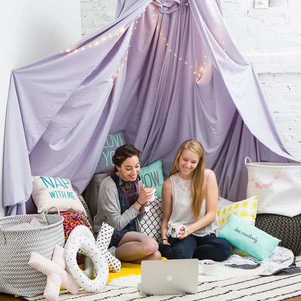 Get Cozy in a Grown-Up Fort This Valentine's Day
