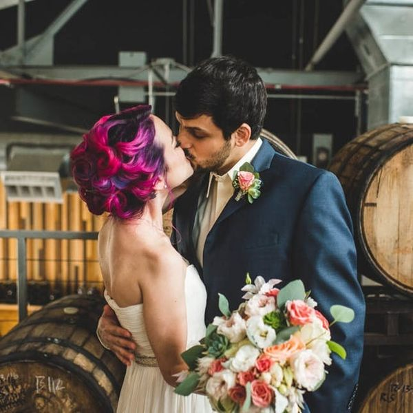 Brewery Weddings Are Officially a Thing and We Couldn't Be *Hoppier*
