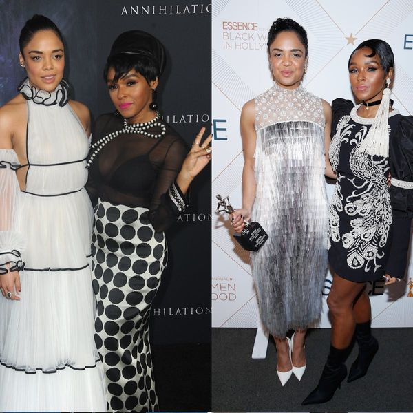 19 Times Tessa Thompson and Janelle Monáe Slayed the Red Carpet Together and Apart