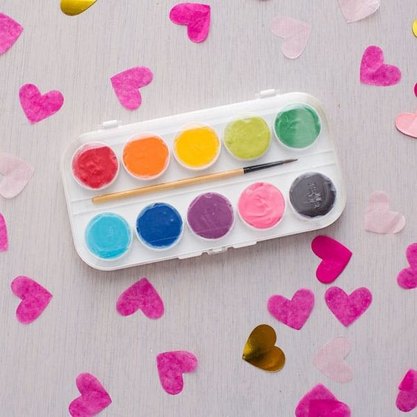 How to Upcycle a Paint Palette into THE Prettiest Box of Chocolates