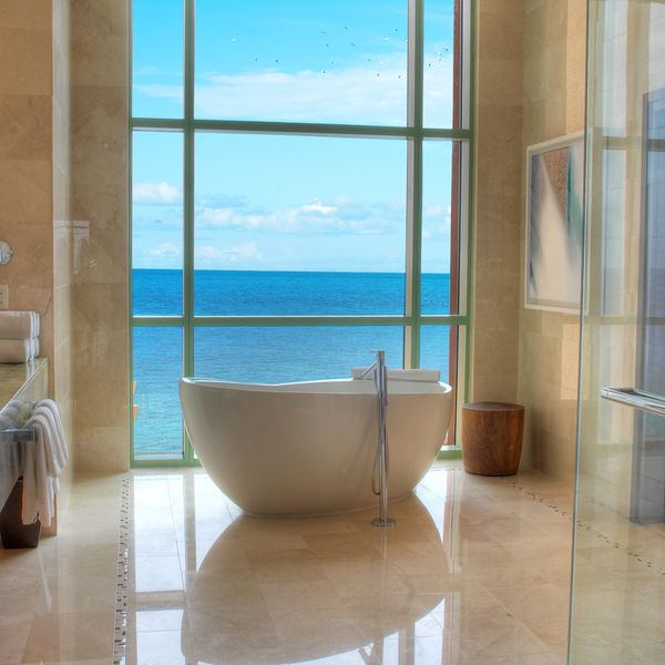 35 Stunning Hotel Bathrooms You'll Want to Spend Your Entire Vacation In