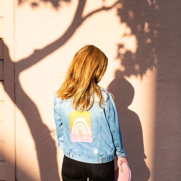 Make Your Own Sun-Print Statement Jacket for Summer