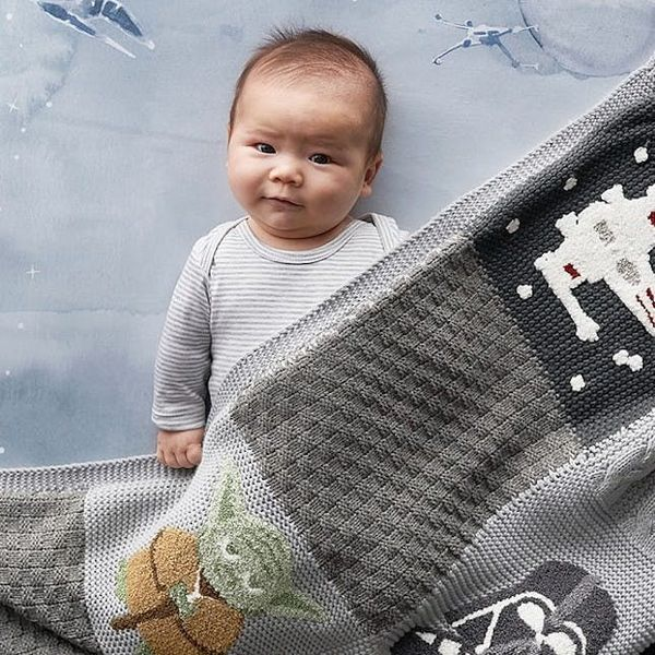 Pottery Barn Kids Synced Up With Star Wars for the Most Precious Nursery Collection